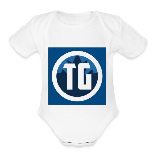 Typical gamer - Organic Short Sleeve Baby Bodysuit