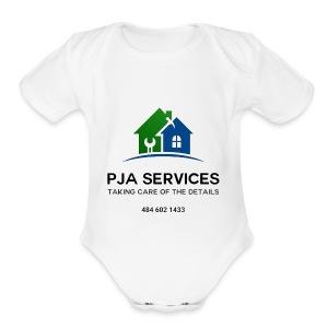 image1 - Short Sleeve Baby Bodysuit