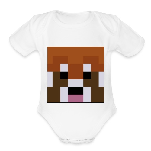 Niko Playz Mc Official Shirt - Organic Short Sleeve Baby Bodysuit