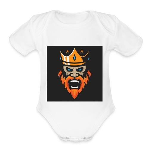 302996768 1014760937 - Organic Short Sleeve Baby Bodysuit