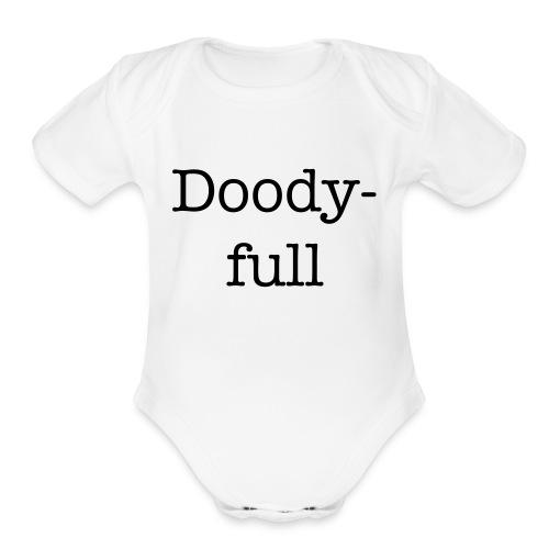 Doodyfull - Organic Short Sleeve Baby Bodysuit