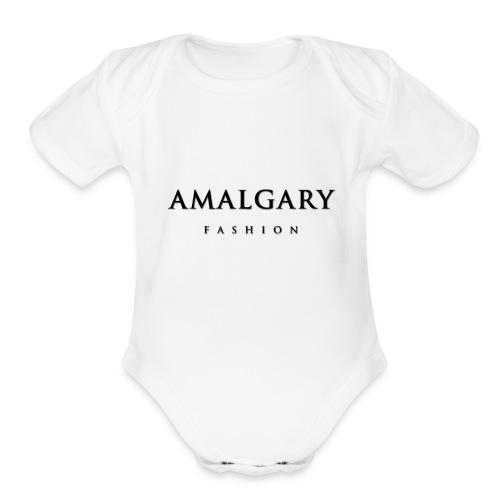 AMG FASHION - Organic Short Sleeve Baby Bodysuit