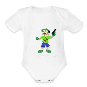 Hgame - Short Sleeve Baby Bodysuit