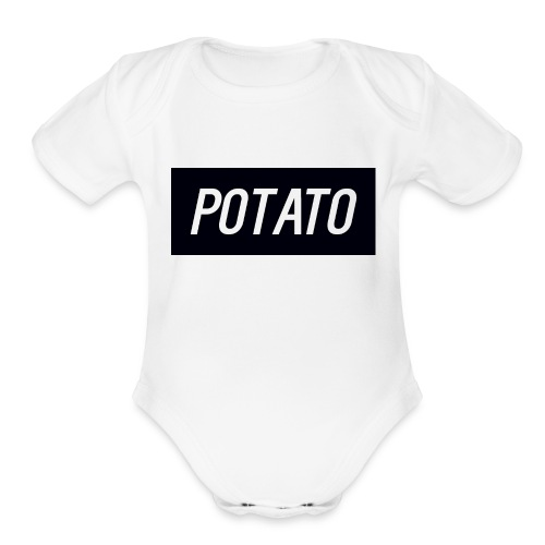 The Potato Shirt - Organic Short Sleeve Baby Bodysuit
