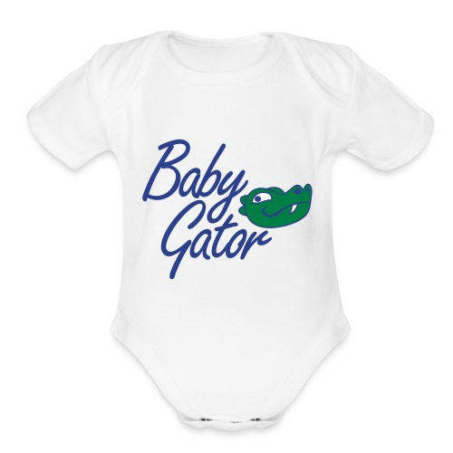 Baby Gator - Organic Short Sleeve Baby Bodysuit