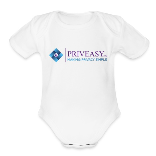 Design 1 - Organic Short Sleeve Baby Bodysuit