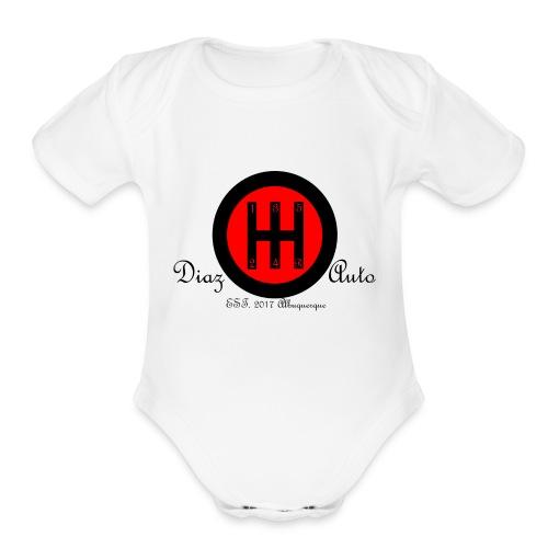 ShiftIt - Organic Short Sleeve Baby Bodysuit