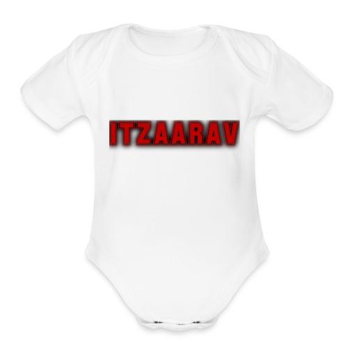 itzaarav - Organic Short Sleeve Baby Bodysuit