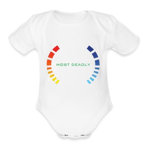 GoldeneEye 64 - Organic Short Sleeve Baby Bodysuit