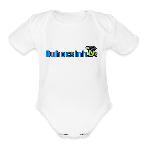 Cup Duhocsinh.us - Organic Short Sleeve Baby Bodysuit