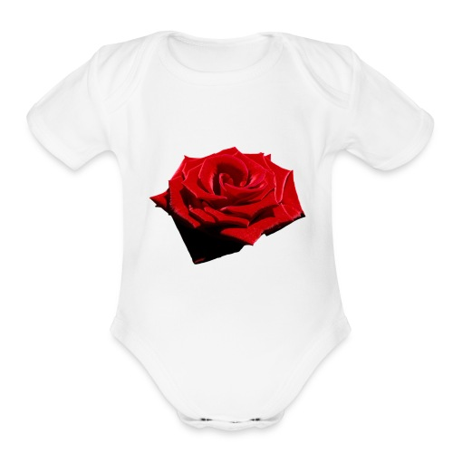 DeadRoses - Organic Short Sleeve Baby Bodysuit