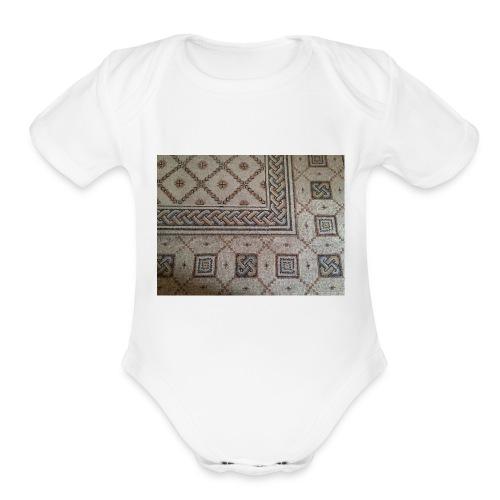 IMG_0527-1- - Organic Short Sleeve Baby Bodysuit