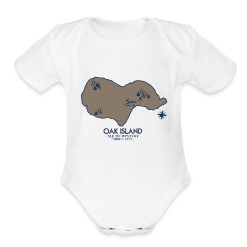Oak Island - Organic Short Sleeve Baby Bodysuit
