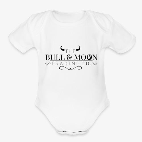 Bull & Moon Official T-Shirt - Organic Short Sleeve Baby Bodysuit