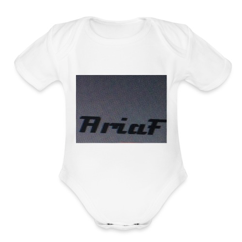 An awful shirt - Organic Short Sleeve Baby Bodysuit