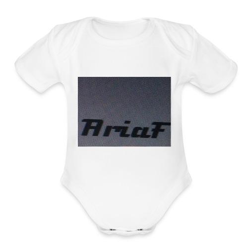 An awful shirt - Organic Short Sleeve Baby Bodysuit