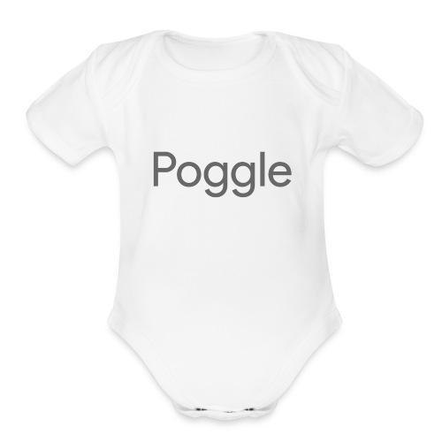 Poggle Men's T-Shirt - Organic Short Sleeve Baby Bodysuit