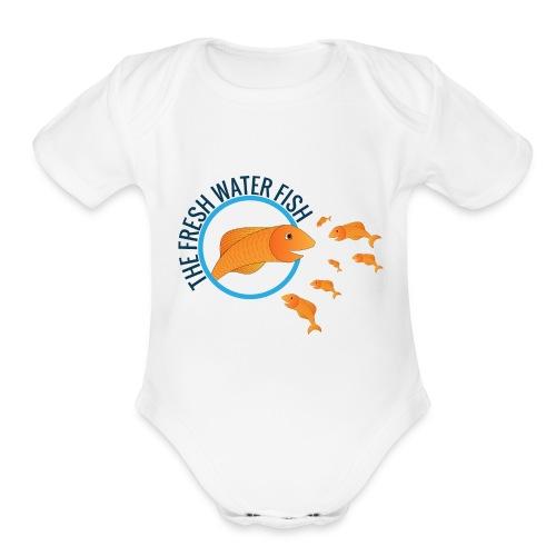 FISH 'n' SHIRT - Organic Short Sleeve Baby Bodysuit