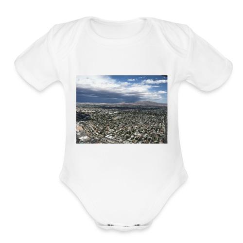 IMG 0175 - Organic Short Sleeve Baby Bodysuit