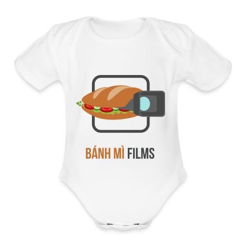 Banh Mi Films 1 - Organic Short Sleeve Baby Bodysuit