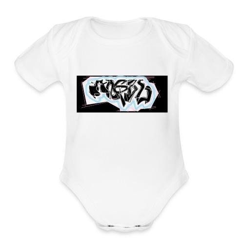 ACES - Organic Short Sleeve Baby Bodysuit