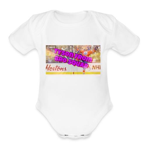 Tyson - Organic Short Sleeve Baby Bodysuit