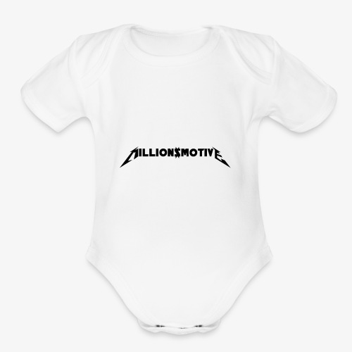 MILLION$MOTIVE - Organic Short Sleeve Baby Bodysuit