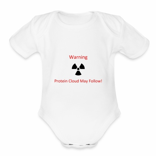 Protein Cloud - Organic Short Sleeve Baby Bodysuit