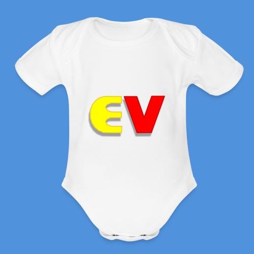 Entoro Vace Logo - Organic Short Sleeve Baby Bodysuit