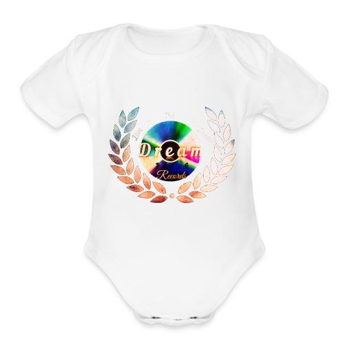 Dream Big (ALT) - Organic Short Sleeve Baby Bodysuit