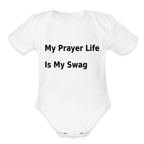 Prayed Up - Organic Short Sleeve Baby Bodysuit