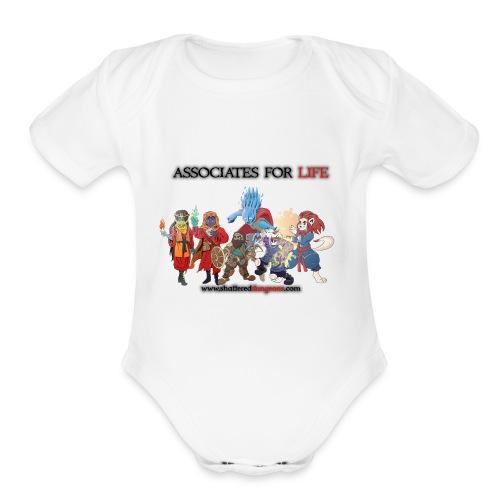 AssociatesForLifeArc2 - Organic Short Sleeve Baby Bodysuit