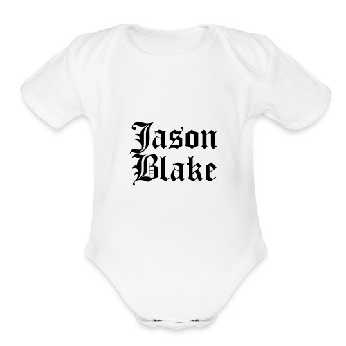 Jason Blake - Organic Short Sleeve Baby Bodysuit