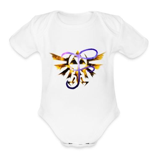 FaroreYT - Organic Short Sleeve Baby Bodysuit