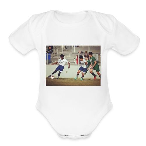 IMG 3987 - Organic Short Sleeve Baby Bodysuit