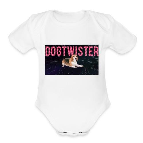 Dogtwister - Organic Short Sleeve Baby Bodysuit