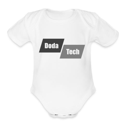 DodaTech Logo - Organic Short Sleeve Baby Bodysuit