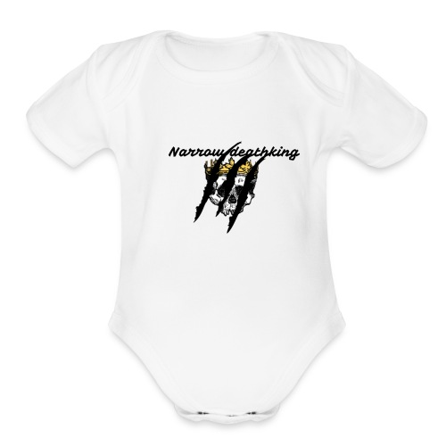 death is the best - Organic Short Sleeve Baby Bodysuit