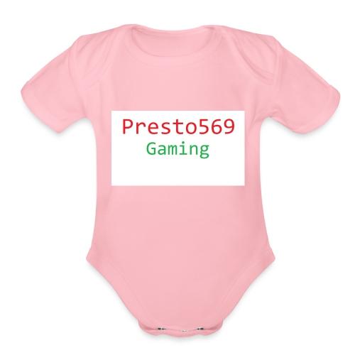 Presto569 Gaming - Organic Short Sleeve Baby Bodysuit