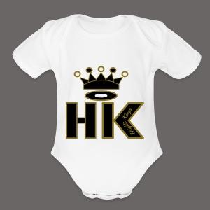 hk - Short Sleeve Baby Bodysuit