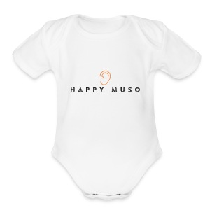 Happy Muso Official - Short Sleeve Baby Bodysuit
