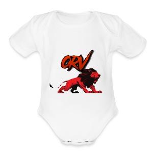 ORV KING MERCH!! - Short Sleeve Baby Bodysuit