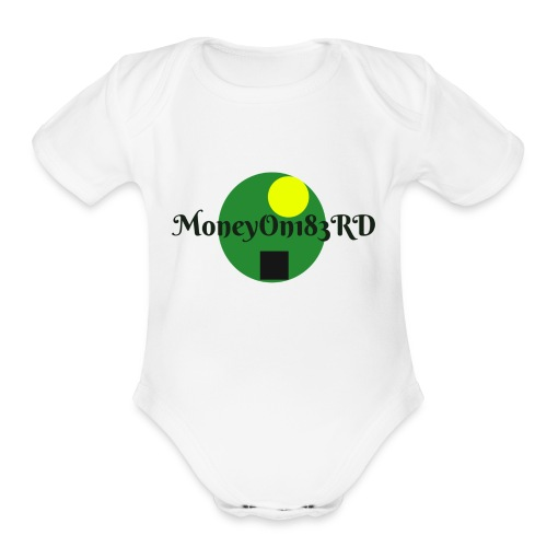 MoneyOn183rd - Organic Short Sleeve Baby Bodysuit