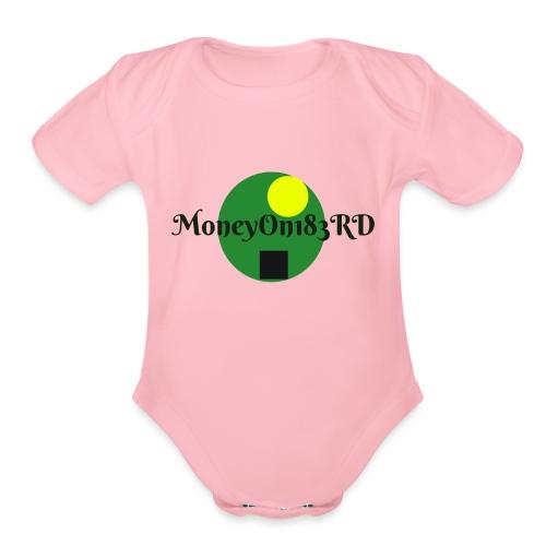 MoneyOn183rd - Organic Short Sleeve Baby Bodysuit