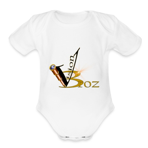 Vision Broz - Organic Short Sleeve Baby Bodysuit