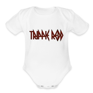 trippie redd logo - Short Sleeve Baby Bodysuit