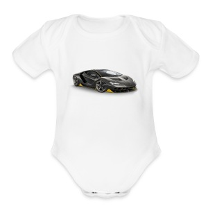 lambo shirts. - Short Sleeve Baby Bodysuit