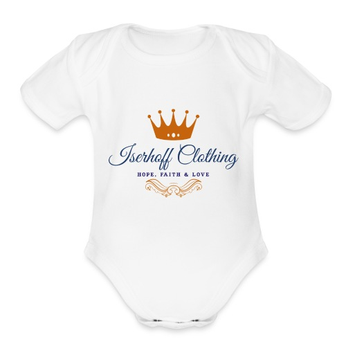 Iserhoff Clothing - Organic Short Sleeve Baby Bodysuit