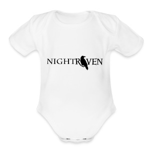 Night Raven Official Gear - Short Sleeve Baby Bodysuit