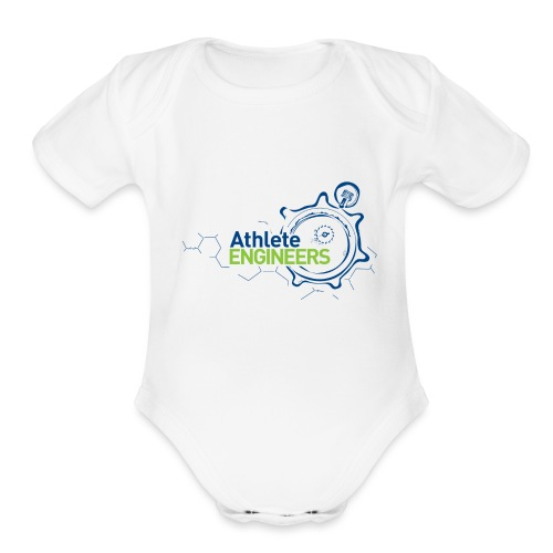 Athlete Engineers - Organic Short Sleeve Baby Bodysuit